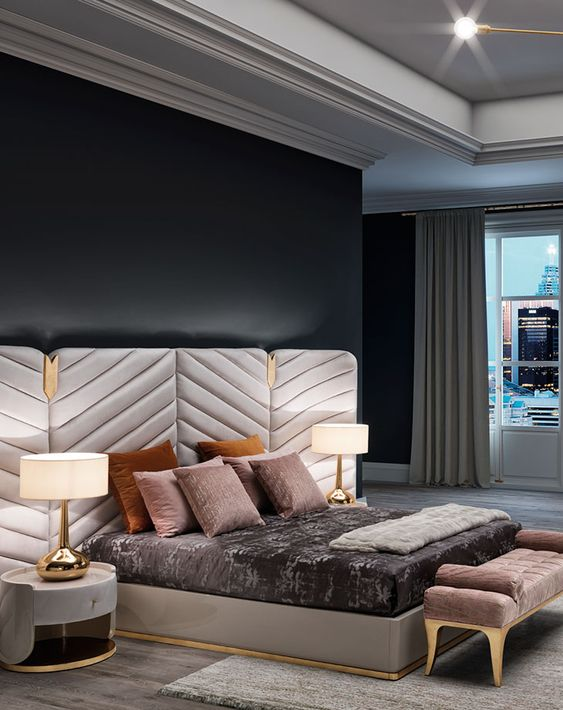 Best Luxury Bedroom Furniture showrooms available in Delhi. Dueloy is a high-end designer furniture and home decoration agency that offers premium hand-made wood craftsmanship for the most luxurious wooden materials.